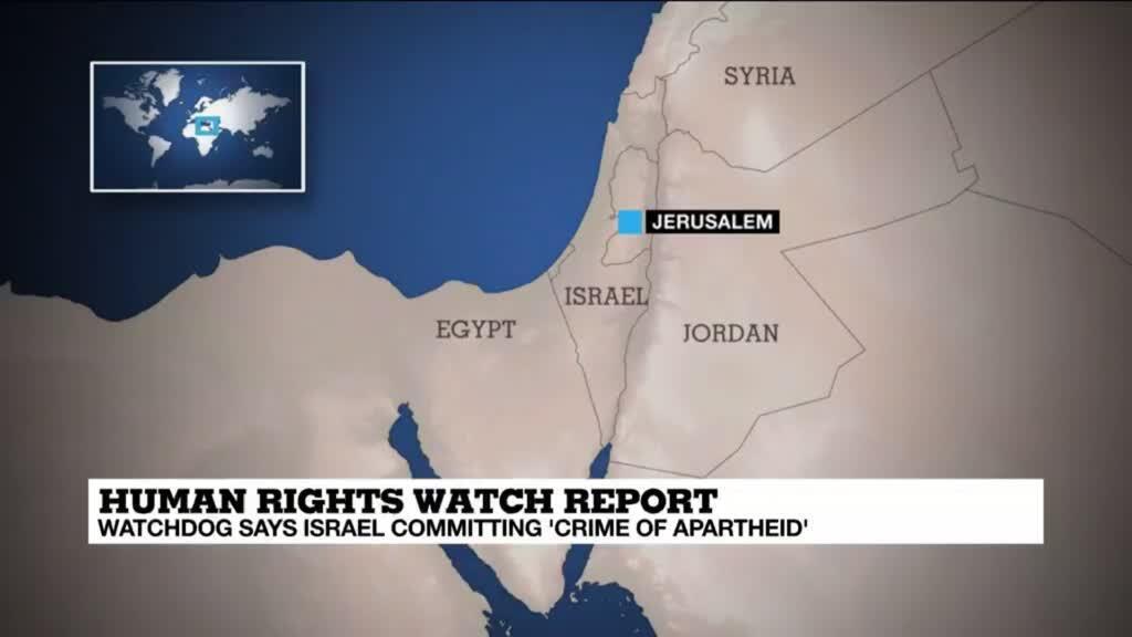 2021-04-27 16:08 Jerusalem's deputy mayor hits back at human rights watchdog over 'apartheid' report