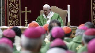 Une conférence sur la pédophilie dans l'Église s'est ouverte, jeudi 21 février, au Vatican.