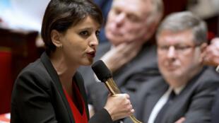 Najat Vallaud-Belkacem, ministre des Droits des femmes