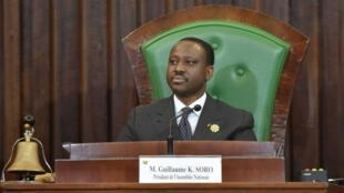 """L'ex-président de l'Assemblée nationale fait l'objet d'un """"mandat d'arrêt international"""" de la justice ivoirienne pour """"tentative d'atteinte à l'autorité de l'Etat"""", a annoncé lundi soir le procureur de la République d'Abidjan, Richard Adou."""