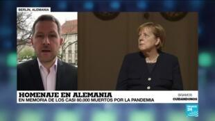 2021-04-18 14:31 Informe desde Berlín: Alemania rinde homenaje a los casi 80.000 fallecidos por la pandemia