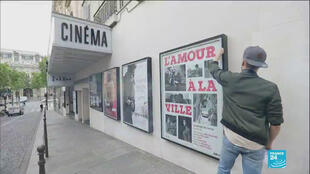 Cinemas across France reopened on Monday after a lengthy lockdown.