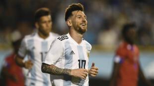 La Fédération palestinienne de football avait appelé à brûler des maillots de Lionel Messi en cas de participation du capitaine argentin au match contre Israël.
