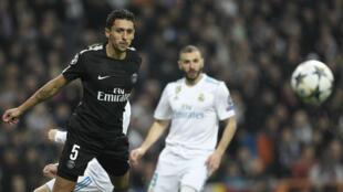 Cruelle défaite pour le PSG, battu à Madrid par le Real, mercredi 14 février 2018.