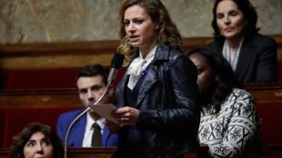 La députée LREM Blandine Brocard à l'Assemblée nationale, le 13 novembre 2018.
