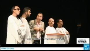 """Scène issue de la pièce """"L'Isoloir 2"""""""