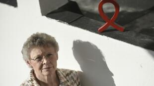 Françoise Barré-Sinoussi, chercheuse, codécouvreuse du virus du sida, prix Nobel de médecine et présidente du Sidaction, le 16 novembre 2017 à Paris.