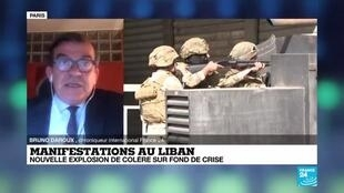 2020-06-15 09:17 Au Liban, nouvelle explosion de colère sur fond de crise