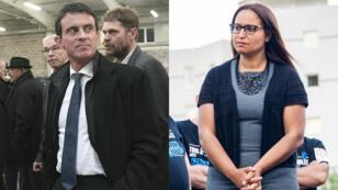 Manuel Valls et Farida Amrani revendiquent tous deux la victoire dans la 1re circonscription de l'Essonne.
