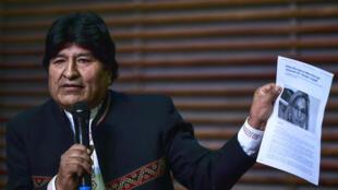 evo morales bolivie presidentielle