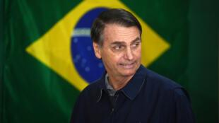 Jair Bolsonaro, le 7 octobre 2018, à Rio.