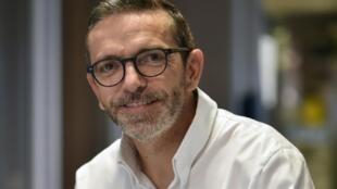 Le chef Sébastien Bras le 21 septembre 2017 à Laguiole (Aveyron)