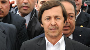 File photo of Said Bouteflika taken in May 2012.