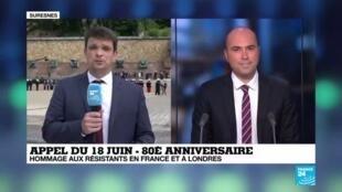2020-06-18 11:30 Emmanuel Macron au Mont Valérien pour le 80e anniversaire de l'appel du 18 juin