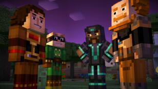 """Bientôt une série interactive """"Minecraft: Story Mode"""" sur Netflix."""