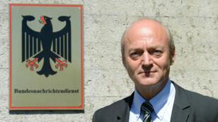 Le directeur du BND Gerhard Schindler, en juin 2014.