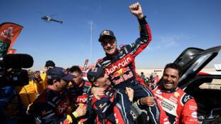 rallye-automobile-dakar-espagnol-carlos-sainz-victoire