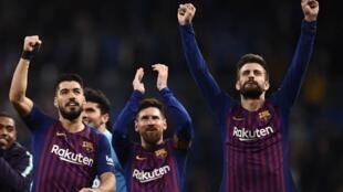 Le Barça, vainqueur du Real Madrid et plus que jamais leader de la Liga.