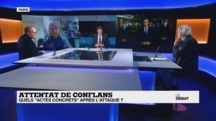 Le Débat de France 24 - lundi 19 octobre 2020