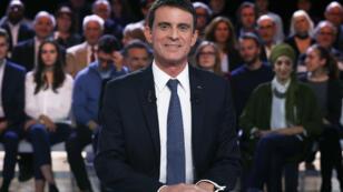 """Manuel Valls dans """"L'émission politique"""", le 5 janvier 2017."""