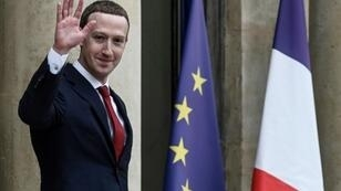 Zuckerberg met Macron at the Elysee Palace amid pressure to crack down on the spread of disinformation