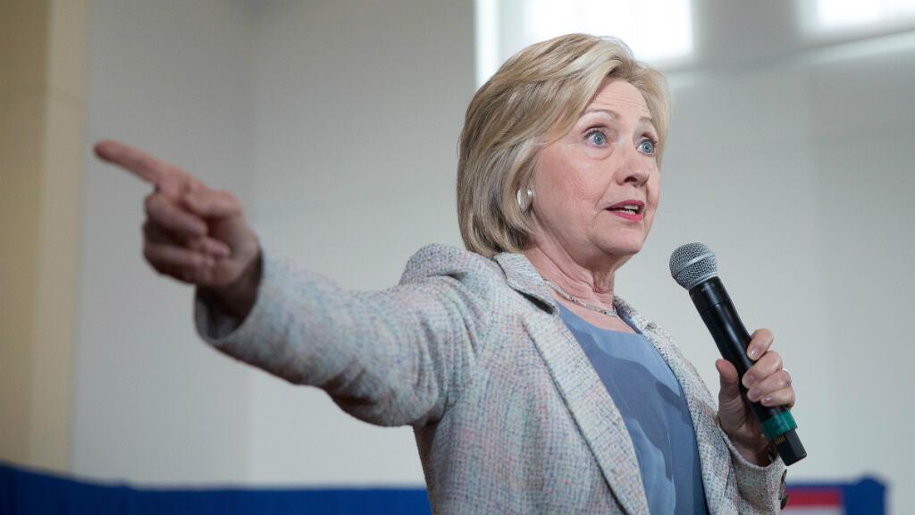 L'ancienne secrétaire d'État Hillary Clinton, le 28 juin 2016 en Californie.