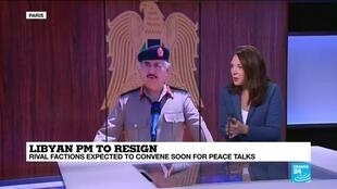 2020-09-17 14:05 Libyan PM to resign: Rival factions expected to convene soon for peace talks