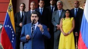 Nicolas Maduro le 5 octobre 2019 à Caracas.