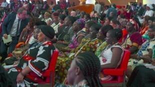 """Au sommet de """"l'Initiative de financement en faveur des femmes entrepreneurs"""" (We-Fi)à Abidjan, le 17 avril 2019"""