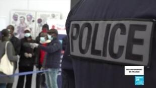 2020-05-11 14:04 Covid-19 en France : reportage à Gare du Nord à Paris lors du premier jour de déconfinement