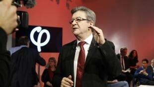 مرشح أقصى اليسار للرئاسة الفرنسية جان لوك ميلنشون