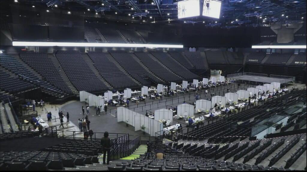 Indochine à l'Accor Hôtel Arena, le premier concert-test de France