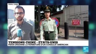 2020-07-24 10:06 La Chine contre-attaque et ferme son consulat américain
