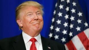 المرشح الجمهوري للرئاسة الأمريكية دونالد ترامب