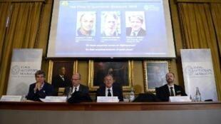 Lars Peter Hansen, Eugene Fama et Robert Shiller