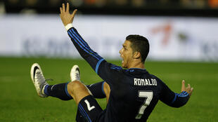 L'attaquant du Real Madrid Cristiano Ronaldo lors du match contre Valence, le 3 janvier 2016.