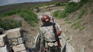 Karabakh armenie azerbaidjan soldat conflit