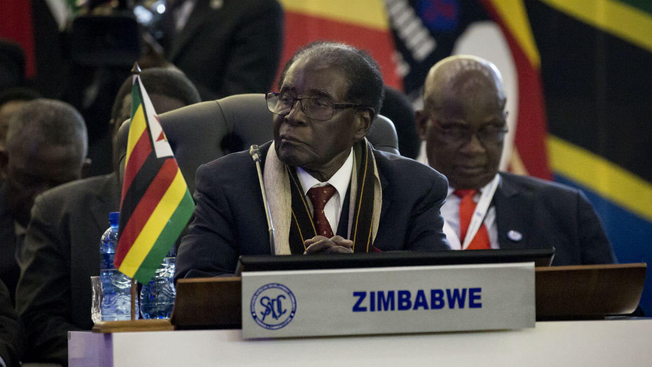 Gulshan Khan, AFP file picture | Robert Mugabe in Pretoria in South Africa