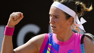 Victoria Azarenka was back in action just days after losing the US Open final to Naomi Osaka