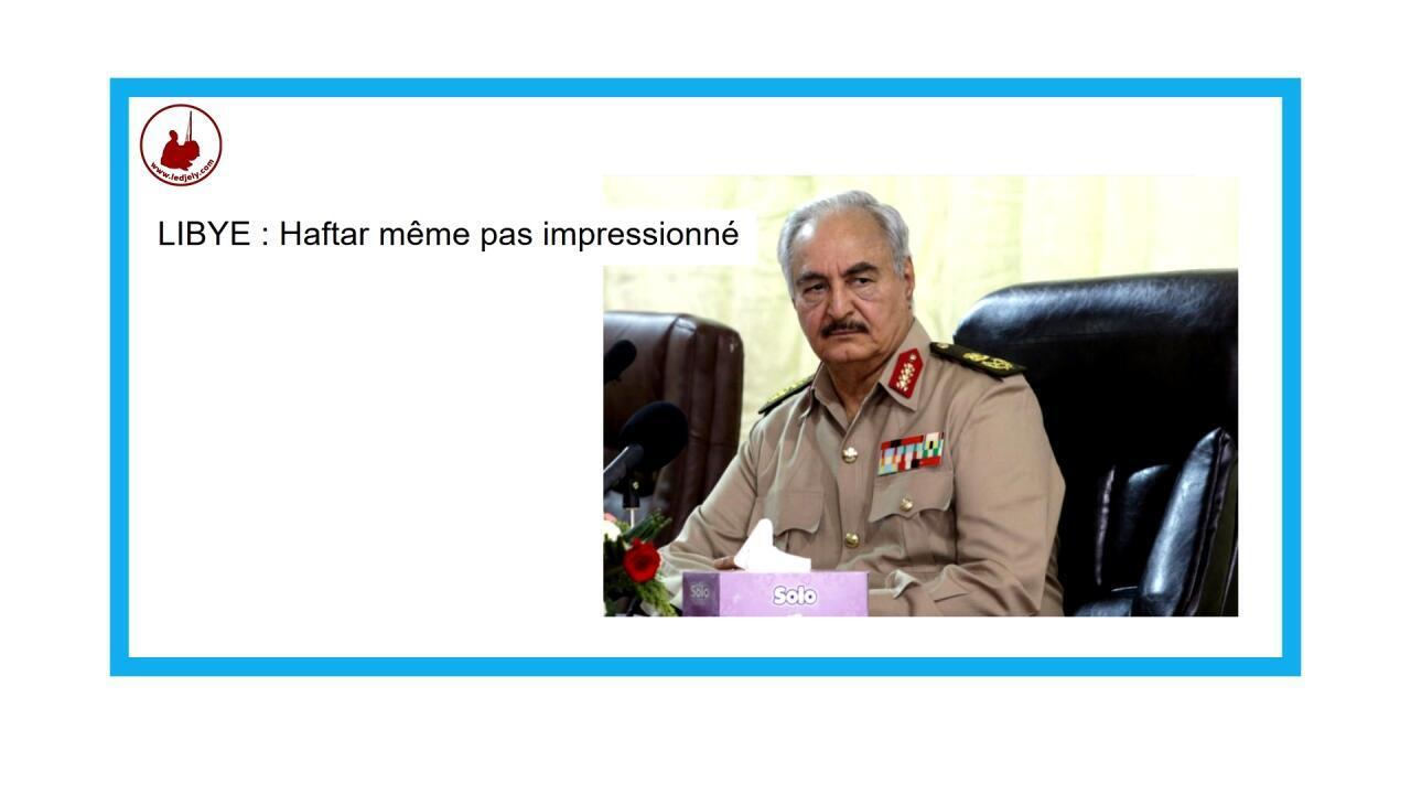 Le maréchal Haftar, l'homme fort de l'est de la Libye