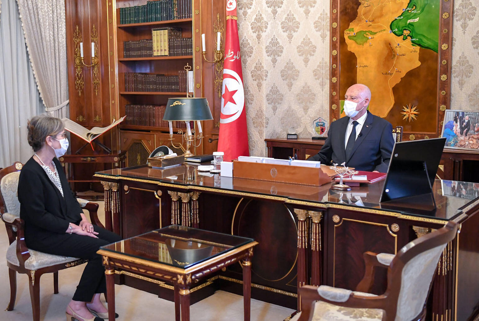 Saied said the new government's main mission would be to 'put an end to the corruption and chaos that have spread throughout many state institutions'