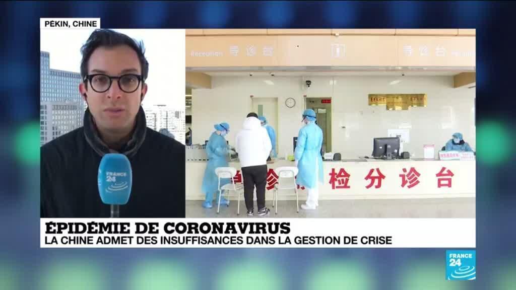 2020-02-04 11:05 Coronavirus en Chine : Un manque de transparence à l'origine de la propagation du virus