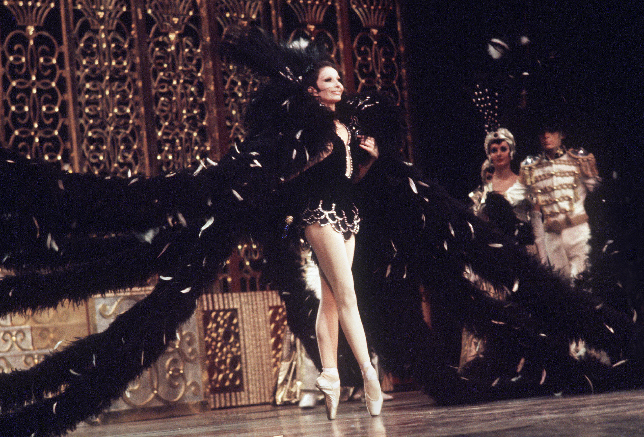 Many of Zizi Jeanmaire's roles were created by her husband, the renowned choreographer Roland Petit