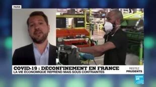 2020-05-29 08:07 Déconfinement : la vie économique française reprend mais sous contrainte