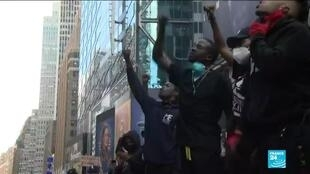 2020-06-02 10:01 New York imposes curfew as George Floyd protests continue