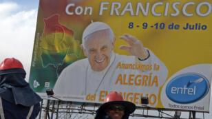 La Bolivie se prépare à accueillir le pape, qui doit y passer trois jours.