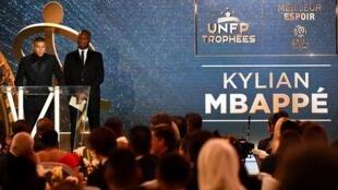 Pas de successeur en 2020 à Kylian Mbappé, désigné en mai 2019 meilleur joueur et meilleur espoir du championnat de France