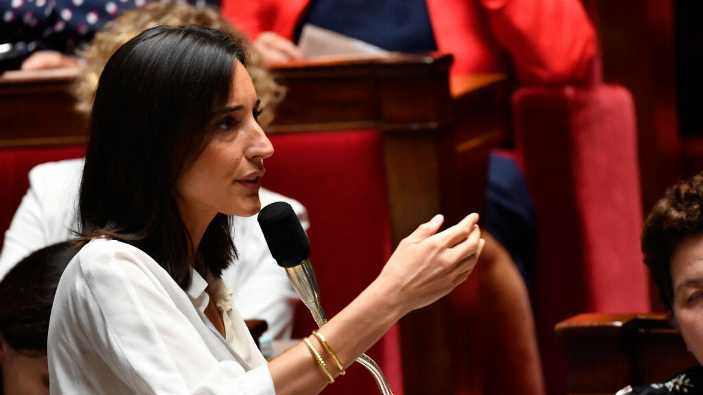 La secrétaire d'État auprès du ministre de la Transition écologique et solidaire, Brune Poirson, à l'Assemblée nationale, le 1er août 2018
