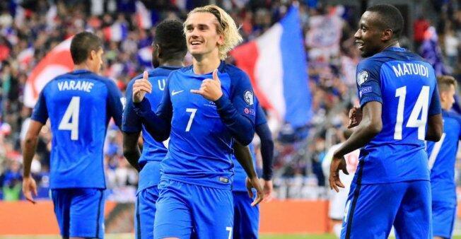 'Les Bleus' se clasificaron para la Copa del Mundo 2018.