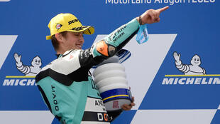 Jaume Masia enjoyed his victory in Aragon